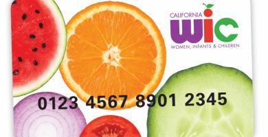 ¿Cómo usar la tarjeta de WIC?