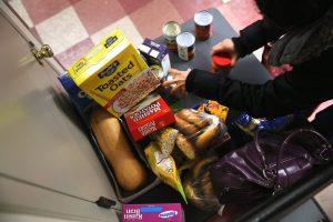 ¿Qué se puede comprar con las estampillas de comida?