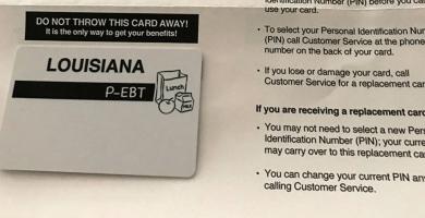 Cómo aplicar para la tarjeta P-EBT (Pandemic EBT Program)