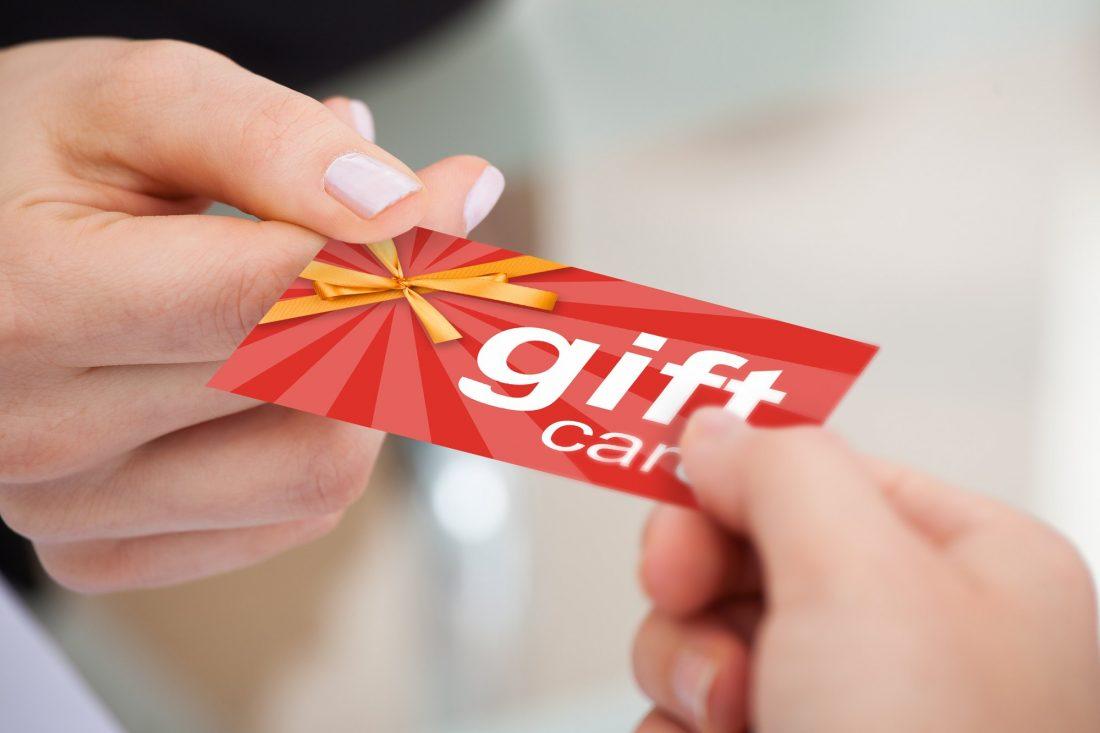 Cómo cambiar una gift card por efectivo