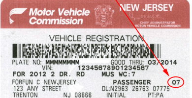 Cómo registrar un carro en New Jersey