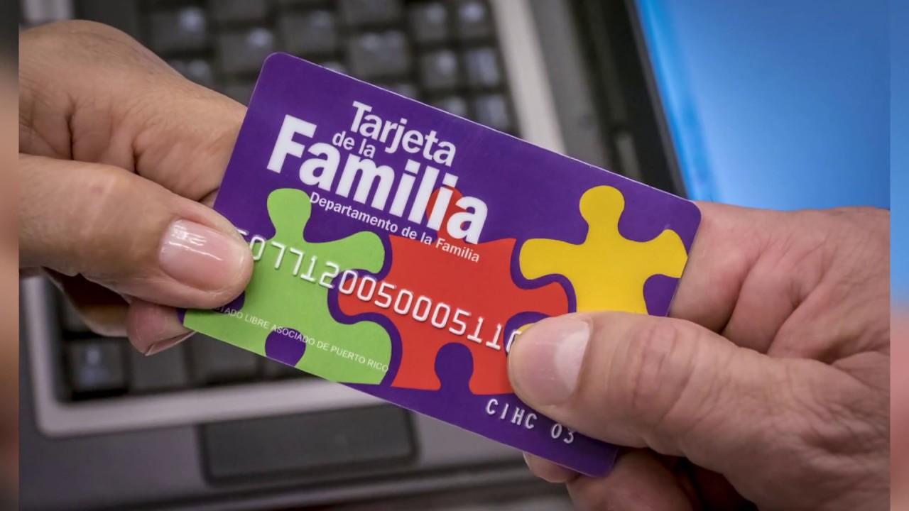 Cómo solicitar la tarjeta de la familia