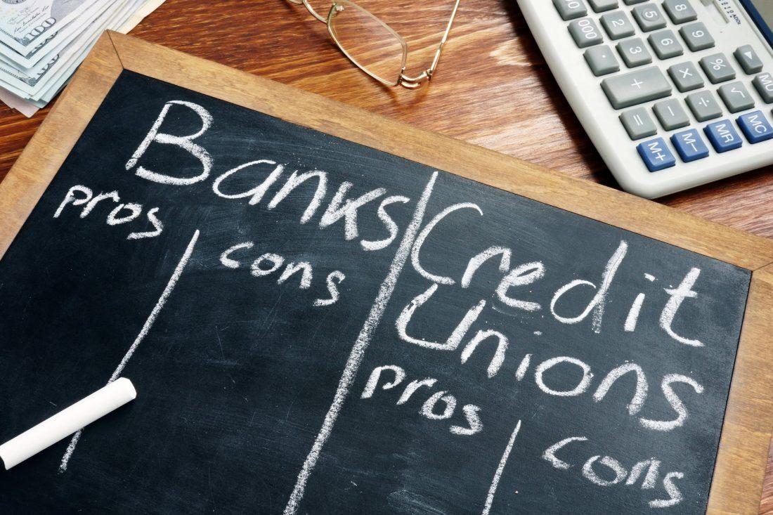 Credit Union Vs Bancos
