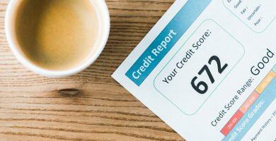 Cuál es el puntaje de crédito promedio en Estados Unidos