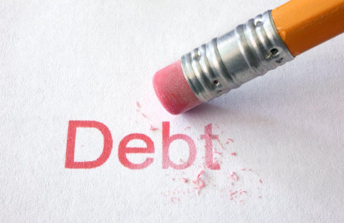 Después de 7 años se borran las deudas de crédito en USA
