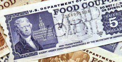 Estampillas de comida en Estados Unidos