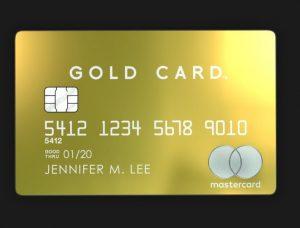 Tarjeta Luxury Card Mastercard Gold Card