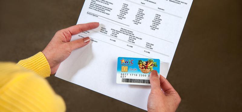 ¿Cómo reportar tarjeta de WIC perdida?