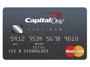Tarjeta de crédito Capital One