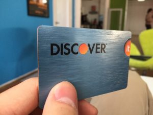 Tarjeta de crédito Discover