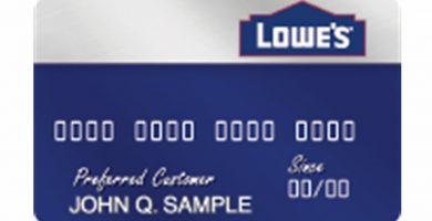 Tarjeta de crédito Lowe's