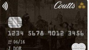 Tarjeta de crédito Coutts Silk