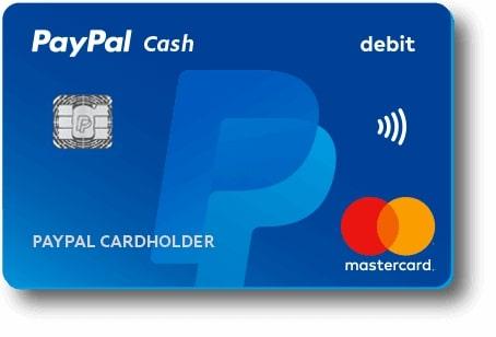 Tarjeta de débito de Paypal