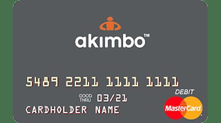 Tarjeta prepagada Akimbo MasterCard