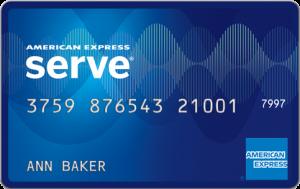 Tarjeta prepagada American Express Serve