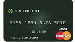 Tarjeta prepagada GreenLight