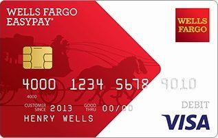 Tarjeta prepagada Wells Fargo EasyPay