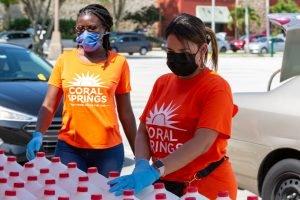 Asistencia alimentaria D-SNAP Florida