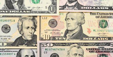 Billetes de Estados Unidos: Denominaciones del dólar, rostros
