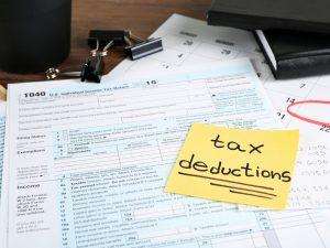 Deducción de impuestos en USA 2021