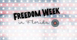 Descuento fiscal en Florida con el Freedom Week
