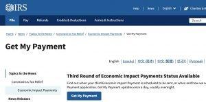 Get My Payment en español: Cómo reclamar el cheque del IRS