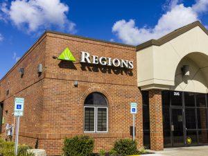 Regions Bank Horario