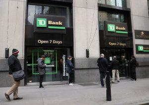 Número de ruta de TD Bank