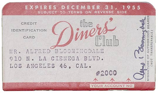primer tarjeta de credito Diners