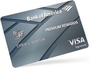 Tarjeta de crédito Platinum Bank of America