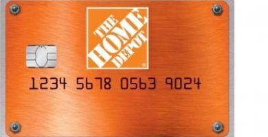 tarjeta de crédito Home Depot