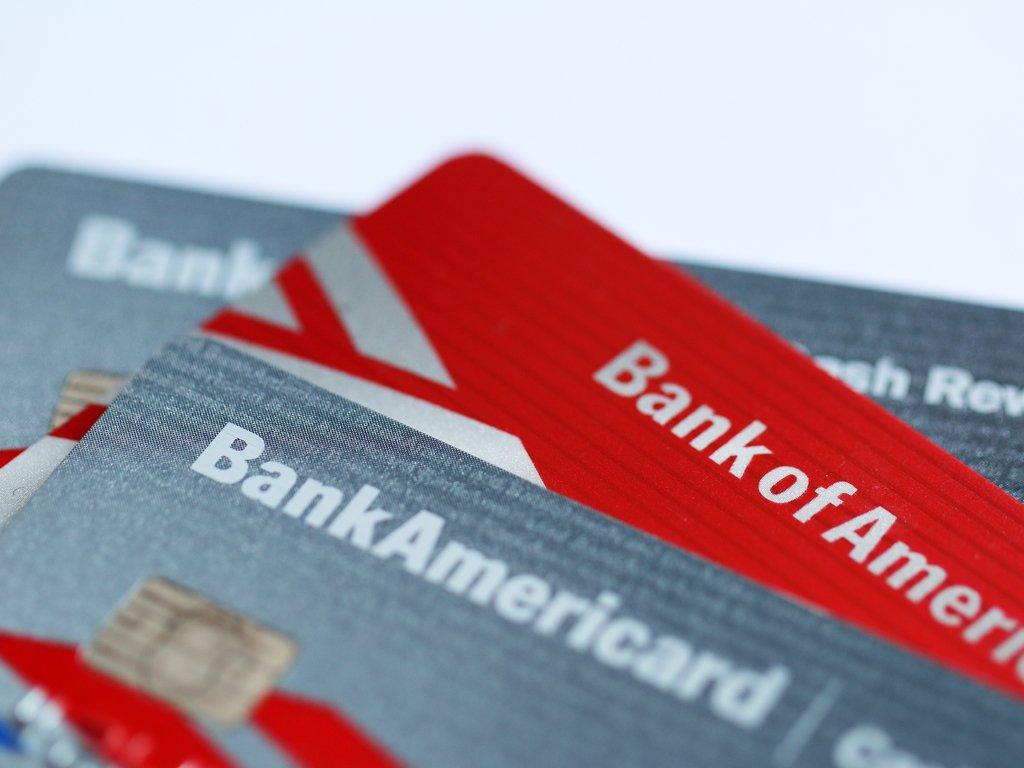 Tarjetas de crédito de Bank of America