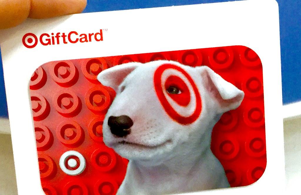 tarjeta de regalo target