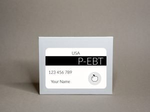 Tarjeta P-EBT California
